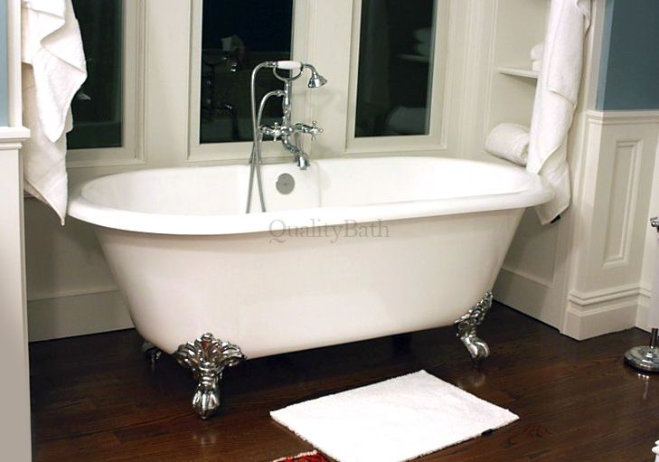 Cheshire Dual Ended Tub W/Imperial Ball and Claw Feet   Bathtubs ...