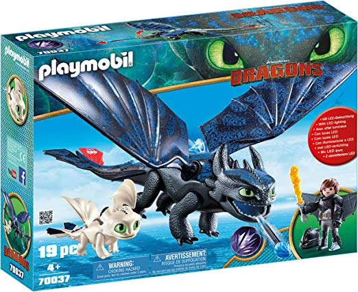 Amazon Com Playmobil How To Train Your Dragon Iii Hiccup Toothless With Baby Dragon Toys Games How Train Your Dragon Baby Dragon Hiccup And Toothless