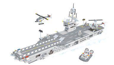Amazon com: 2 Item Bundle: BRICTEK 22111 Navy Aircraft