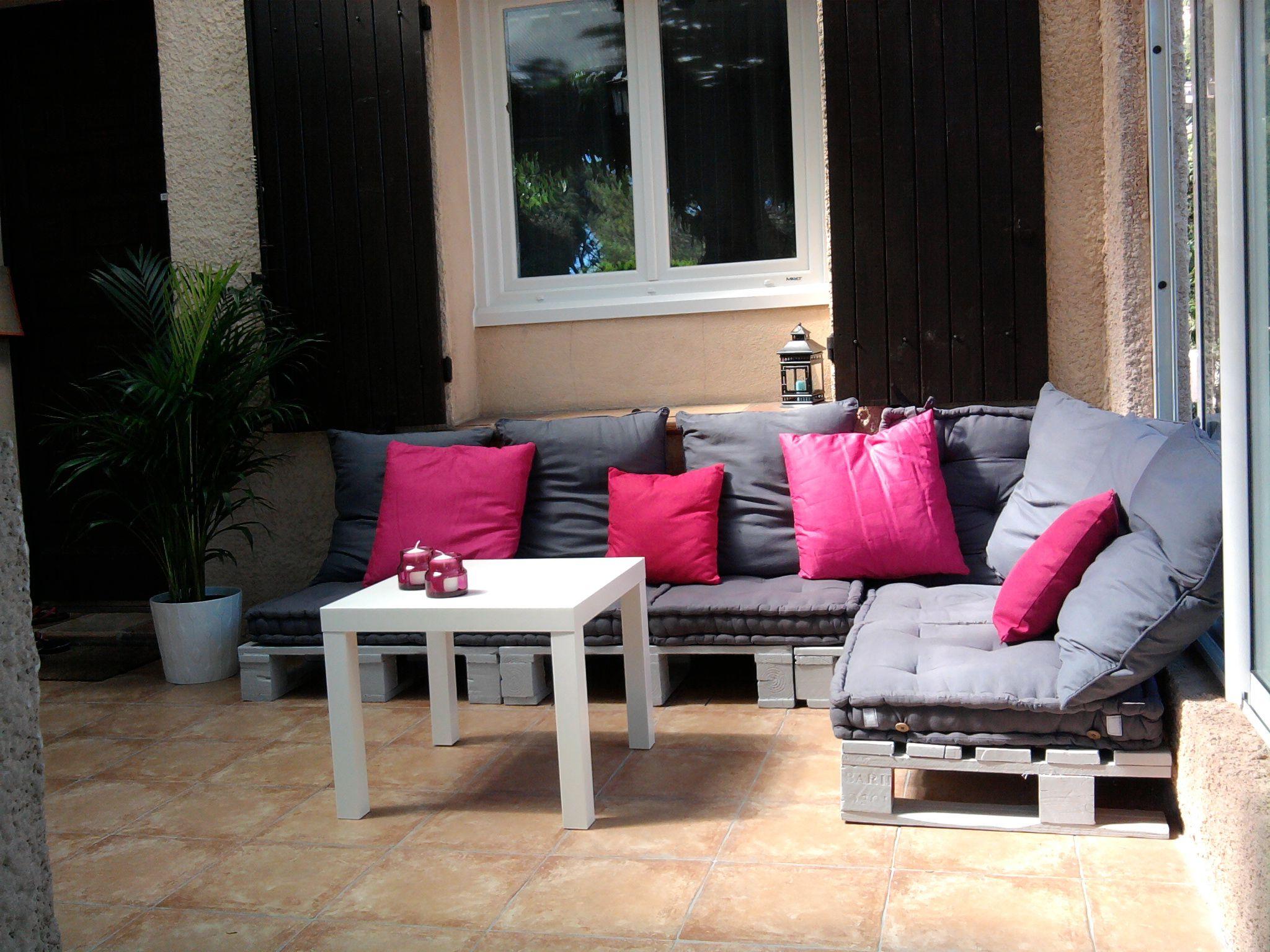 Salon de jardin en palettes ! Instructions de montage... | Création ...