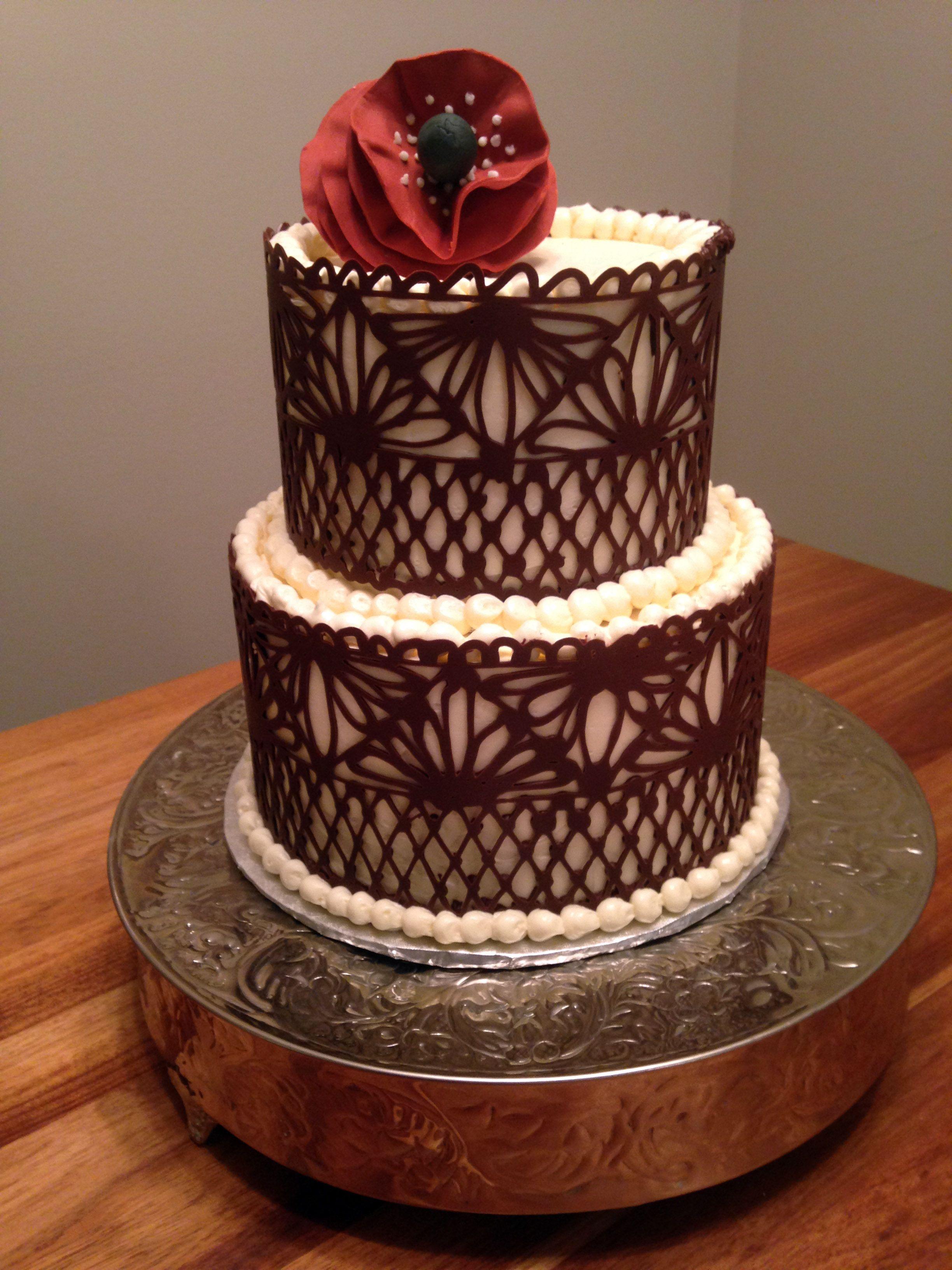 Chocolate Collar Cake Original Embed Special Occasions