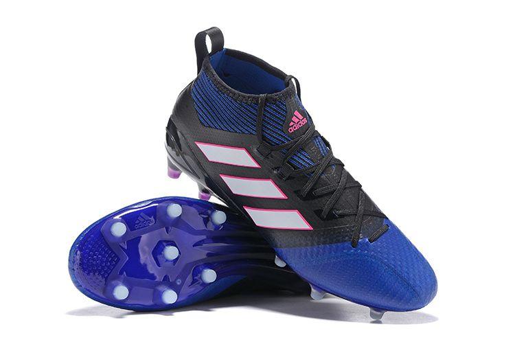 san francisco 7c86a 300b7 2017 Adidas Ace 17.1 Primeknit FG Blue Blast Boots
