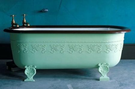 Painting a claw foot tub