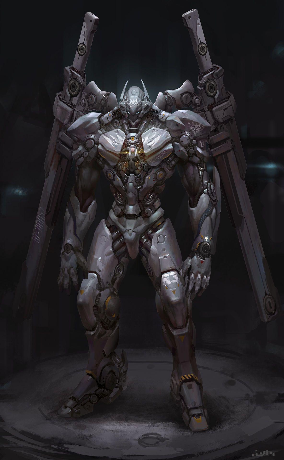 Zhe Concept Art Robot Concept Art Armor Concept Futuristic Armour