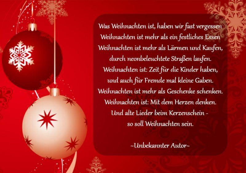 Schone Weihnachtliche Spruche Von Bekannten Und Unbekannten Autoren Gedicht Weihnachten Weihnachtsgedichte Weihnachtsgedichte Besinnlich