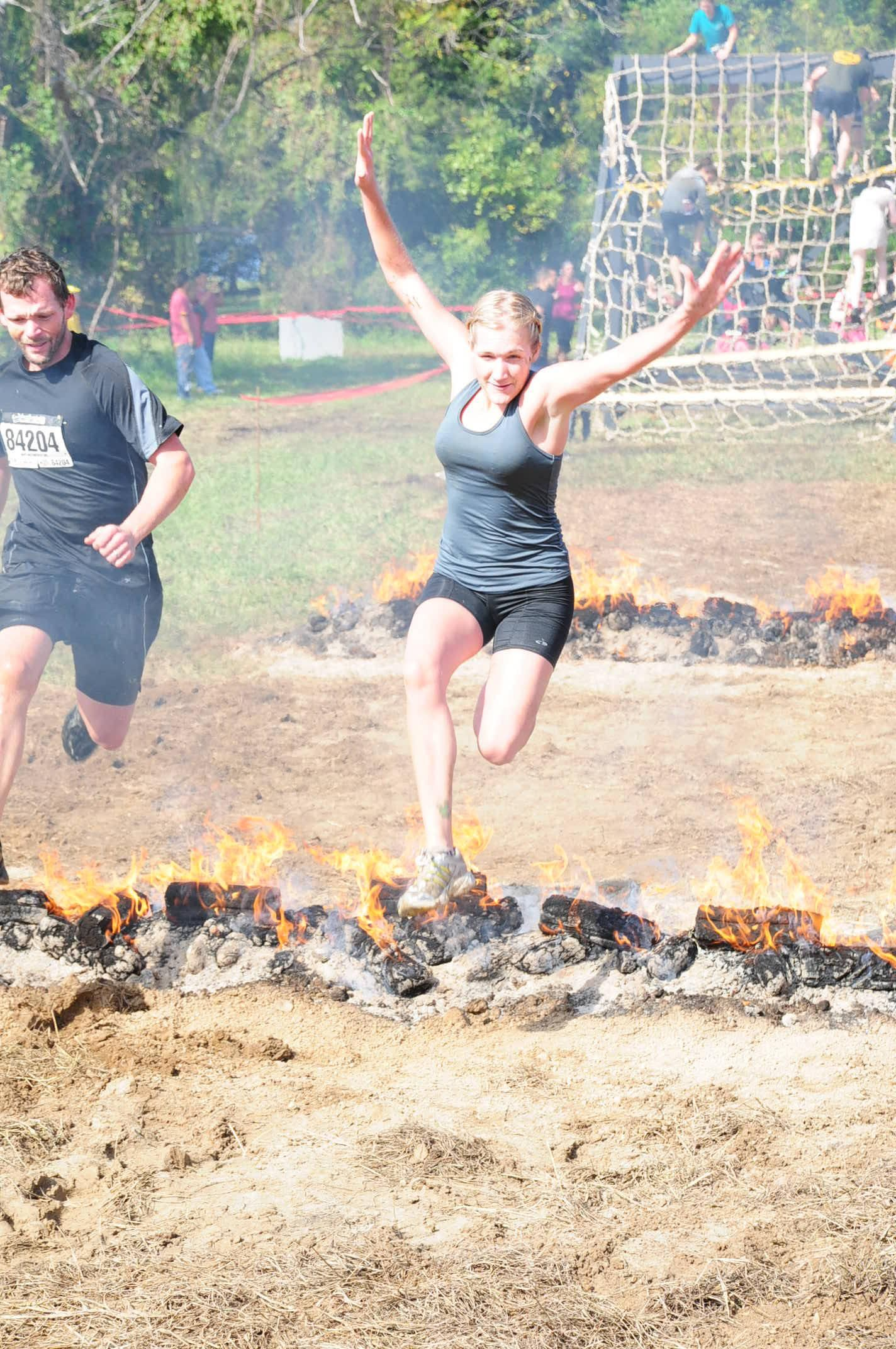 Mud Runs And Fire Jumping