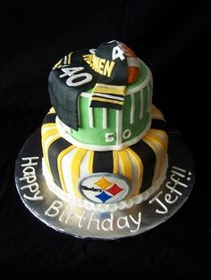 Steelers Birthday Cake Steelers Pinterest Birthday cakes