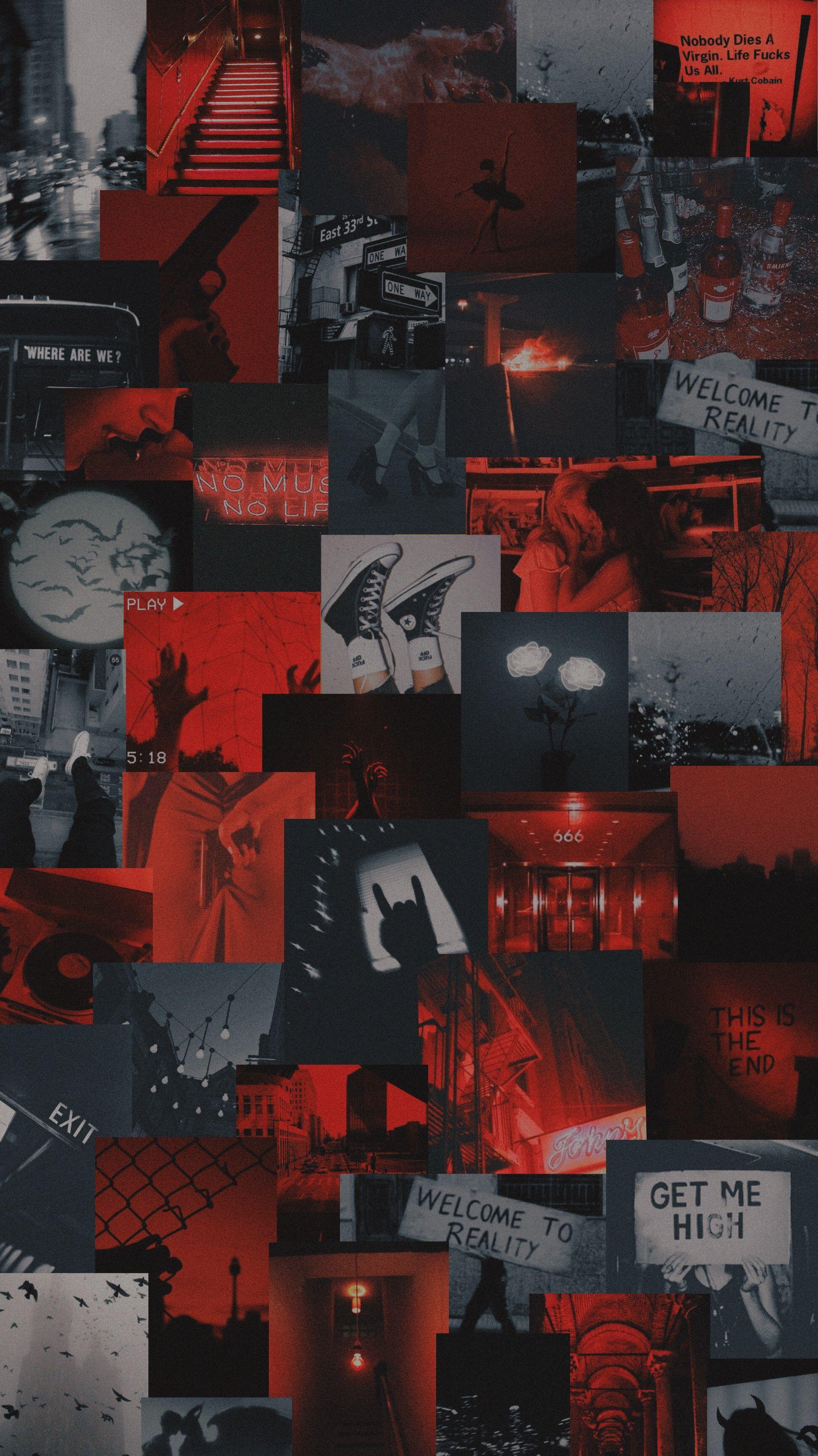 Stream Sadderdaze By The Neighborhood Black Aesthetic Wallpaper Dark Red Wallpaper Red And Black Wallpaper