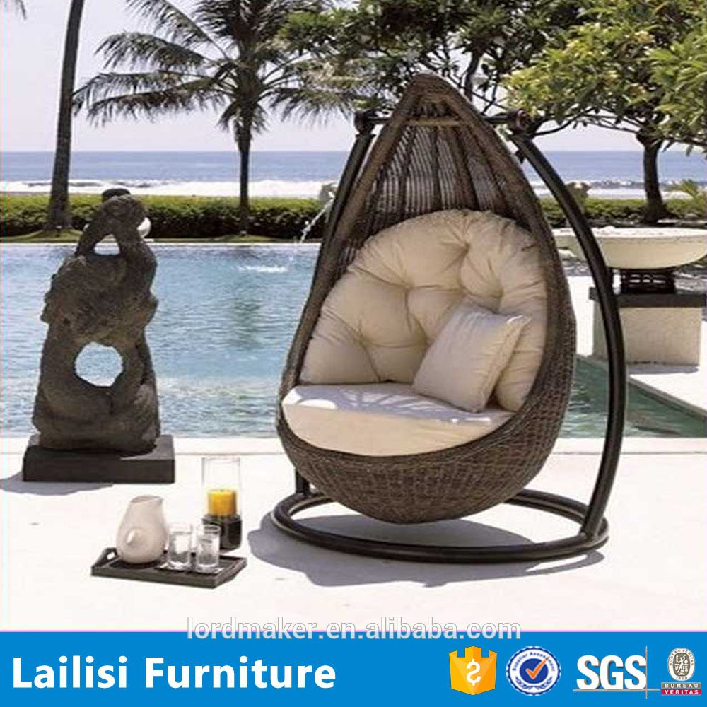hanging swing chair with rattan outdoor swing sets for adults