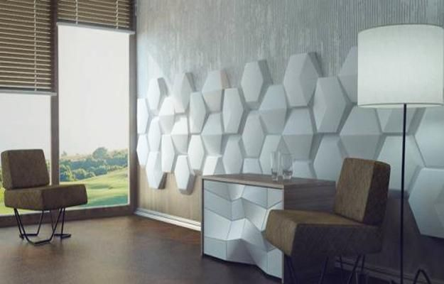 Decorative Wall Panels Adding Chic Carved Wood Patterns to