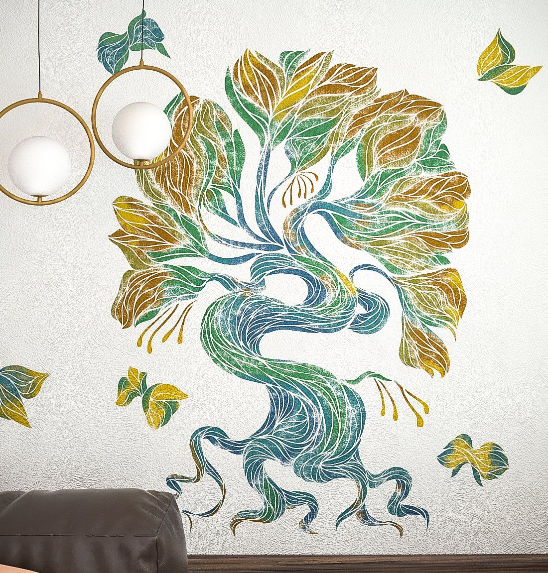Large tree stencil for wall images home wall decoration ideas large wall stencils trees image collections home wall decoration tree stencil for wall painting images home amipublicfo Gallery