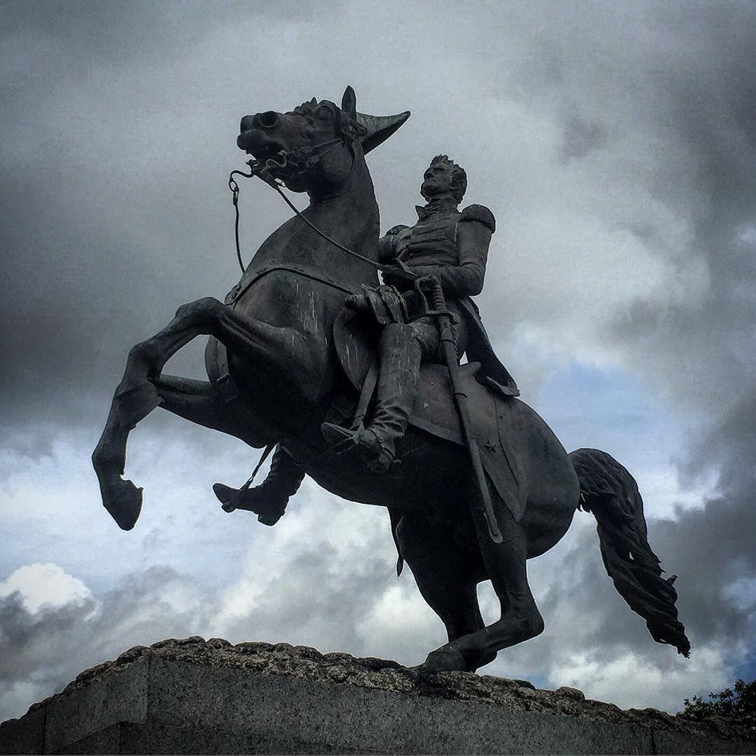 #nola #neworleans #frenchquarter #jacksonsquare #louisiana #statue #horse by jhardcore