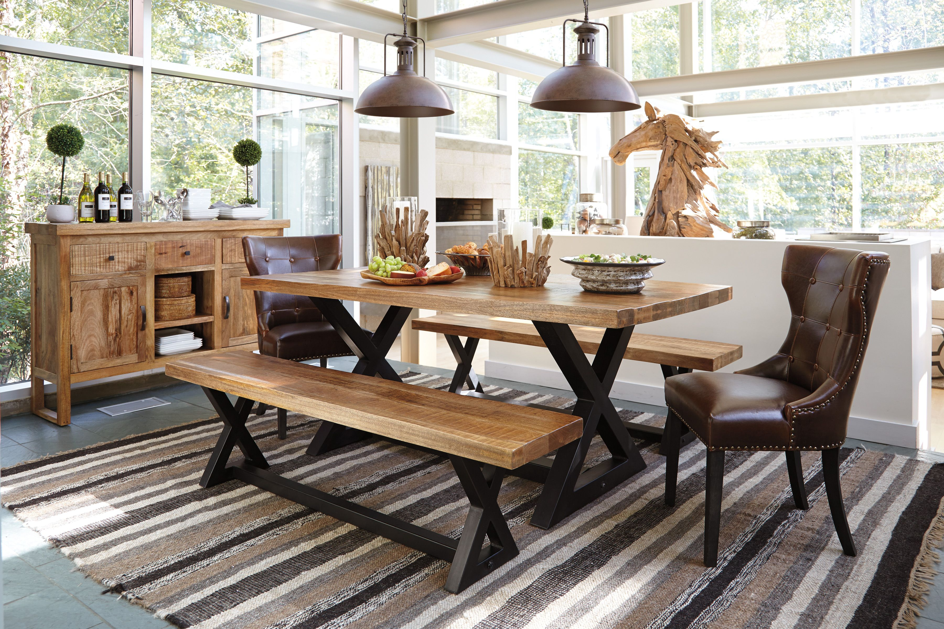 Good Lookingu2014and Smart. Made From Eco Friendly Mango Wood, Our Exotic  Wesling Dining Collection Is An Intelligent Choice For Trend Setters And ...