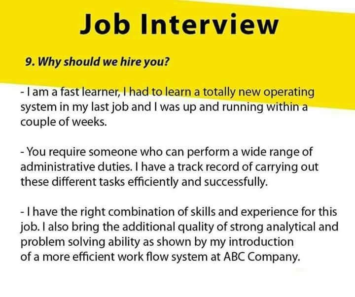 Pin By Khima Thapa On Things To Know And Try Job Interview Job Interview Tips Job Interview Answers