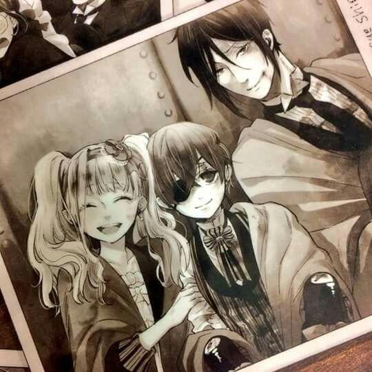 Elizabeth, Ciel & Sebastian