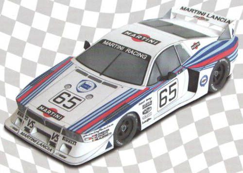 1981 Turbo 24h Le Mans Group 5 Lancia Beta Montecarlo