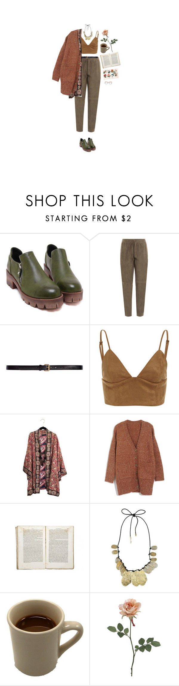"""jäädään kiinni ikuisuuteen"" by hetasdfghjkl ❤ liked on Polyvore featuring Joseph, H&M, Jayson Home and Yves Saint Laurent"