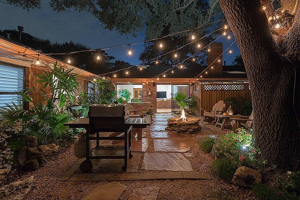 Backyard Backyard Oasis Oasis Lights Back Porch Backyard
