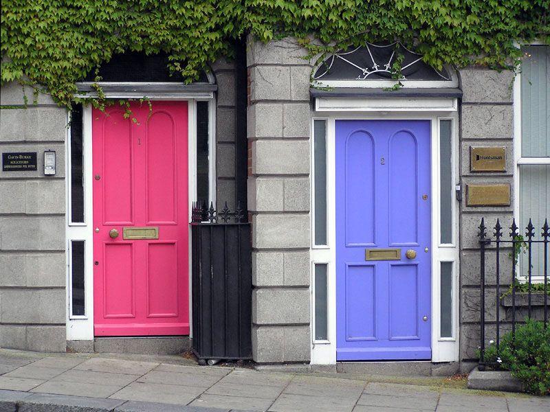Pink u0026 Purple doors #dublin #colour #decor & Pink u0026 Purple doors #dublin #colour #decor | Home | Pinterest ...