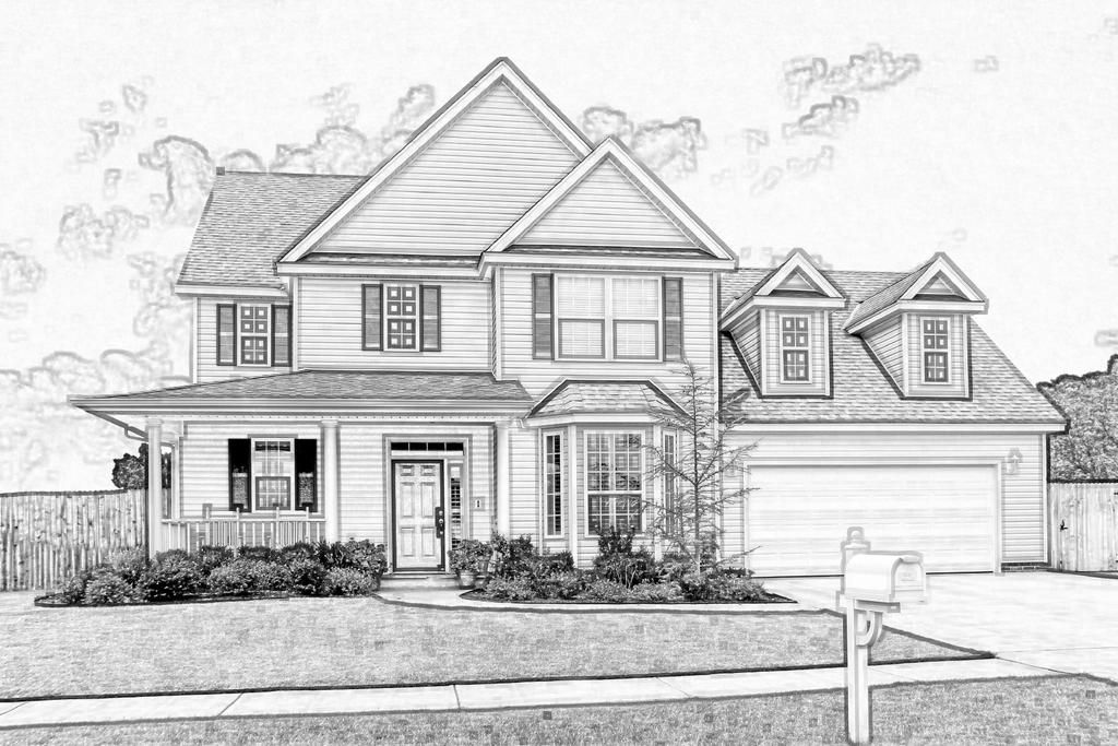House Sketch By Eaglespare On Deviantart House Design Drawing Architecture Design Sketch House Drawing
