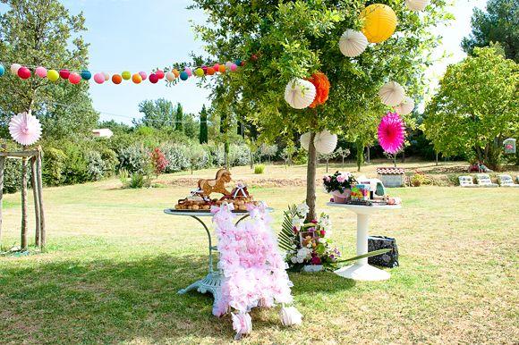 Awesome Idee Deco Bapteme Jardin Contemporary - Matkin.info ...