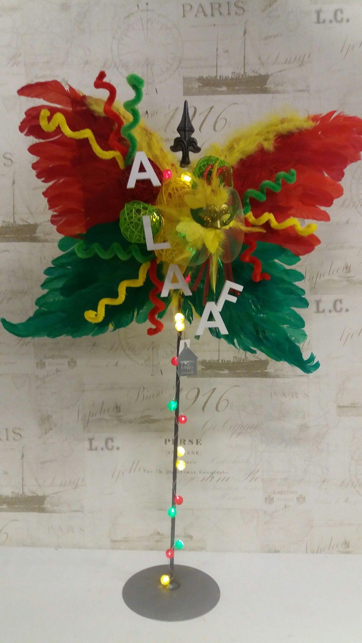 Carnaval Geeft Je Vleugels Carnaval Decoratie Knutselen Carnaval Decoraties Knutselen Carnaval