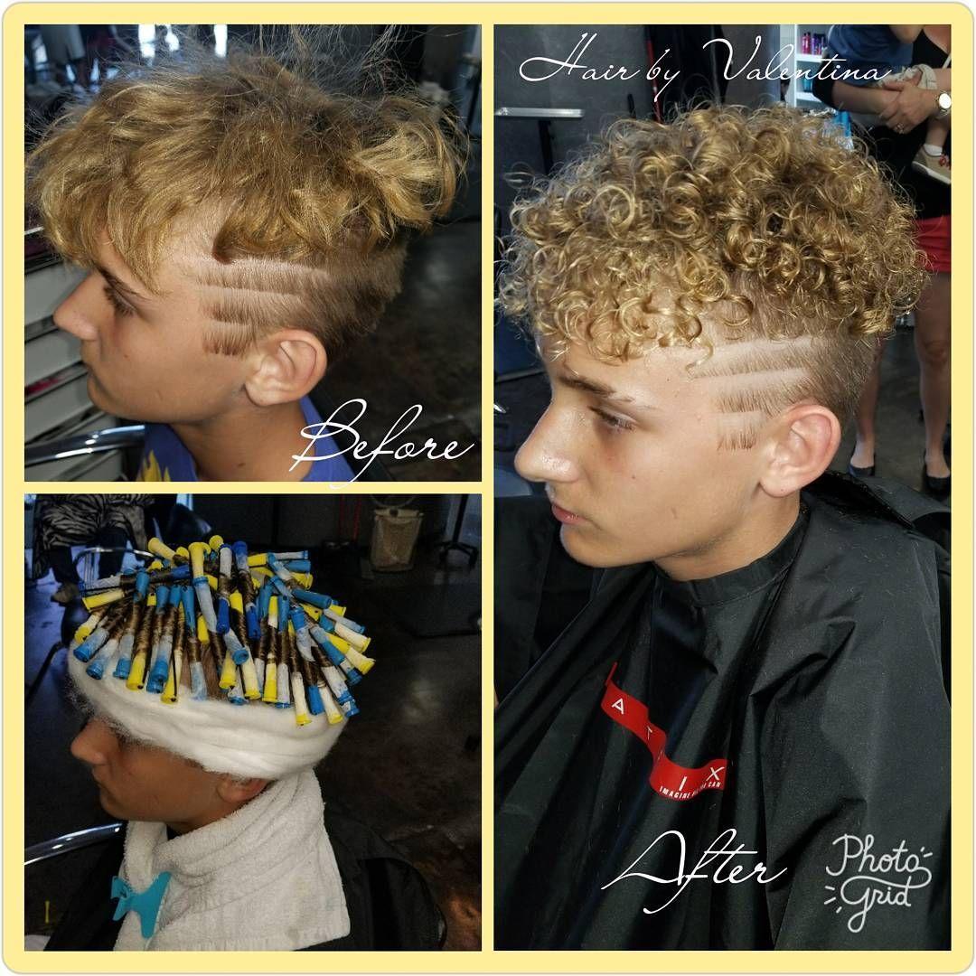 Perm Manperm Moorehairstylist Lovewhatido Hairstyles Short Hair For Boys Perm Hair Men Curly Hair Men