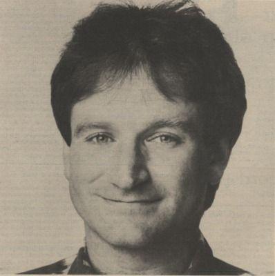 Robin Williams (April 21, 1986)
