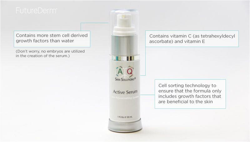 The Futurederm Guide To Neuropeptides Plant Stem Cells Dna Repair Factors Growth Factors And Other New Tech Advanced Skin Care Growth Factor Skin Solutions