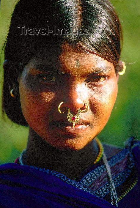 The Custom Of Wearing Nose Rings Was Brought To Indian And