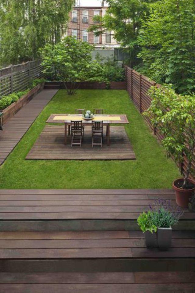 Populaire Aménagement petit jardin de ville : 11 idées via pinterest | En  GL79