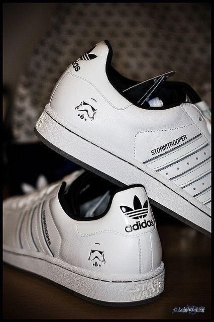 Star Wars X Adidas Originals Superstar Stormtrooper Adidas Fashion Adidas Superstar Outfit Adidas Star Wars