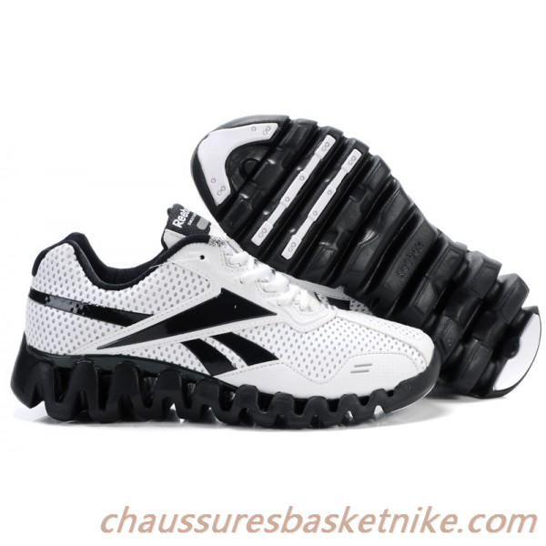 Reebok Chaussures de course Zigtech Blanc Noir Chaussure Reebok Homme,  Chaussure Basket Nike, Chaussures 48489b68ff7b