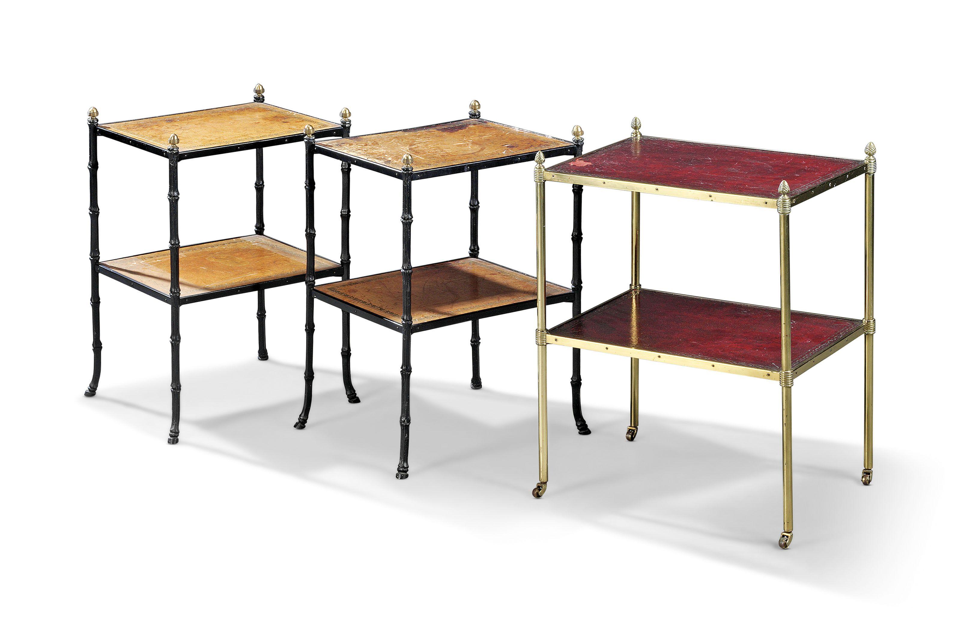 THREE TWO-TIER ETAGERES | THIRD QUARTER 20TH CENTURY | etagere, Furniture & Lighting | Christie's