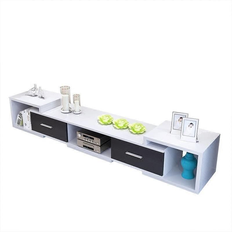 Modern Led Unit Entertainment Center Meuble Moderne Meja European Wood Monitor Mueble Table Living Room Furniture Tv Stand Modern Unit Entertain Lemari Meja