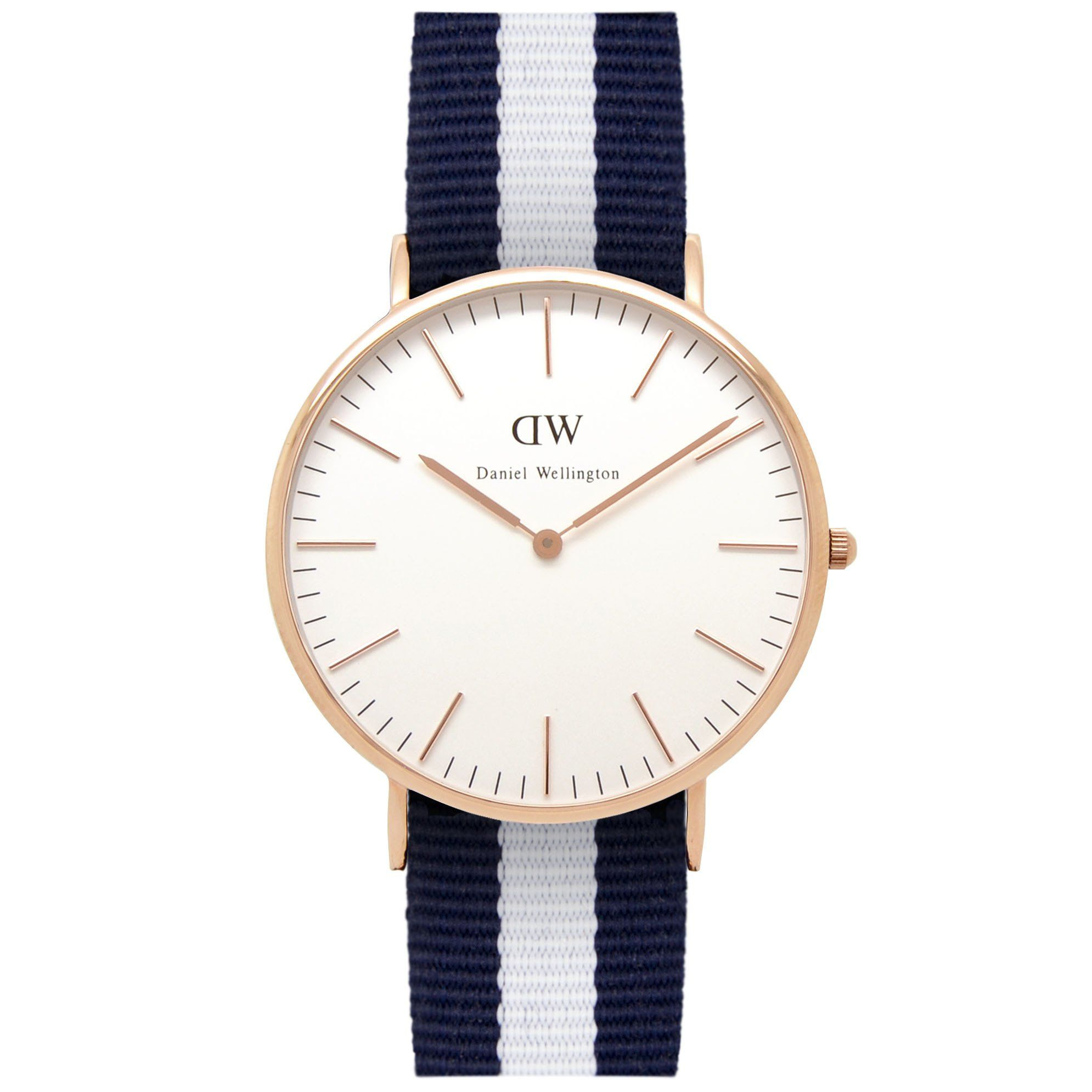 Mens Classic Glasgow Watch in Rose Gold by Daniel Wellington