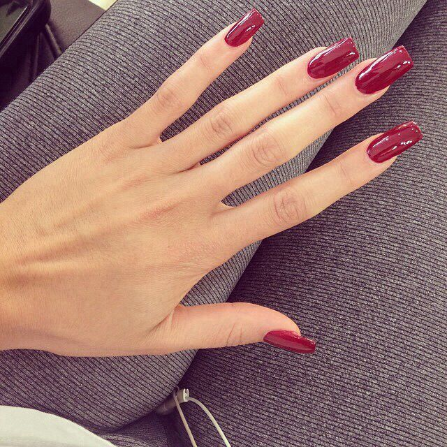 Pin by Shyanne Hockaday on Nails | Pinterest | Long red nails, Red ...