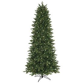 Slim Christmas Tree (With images)   Slim artificial ...
