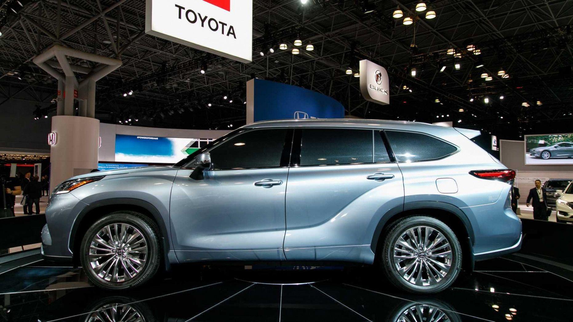 8 Picture 2020 Toyota Big Suv in 2020 Toyota highlander