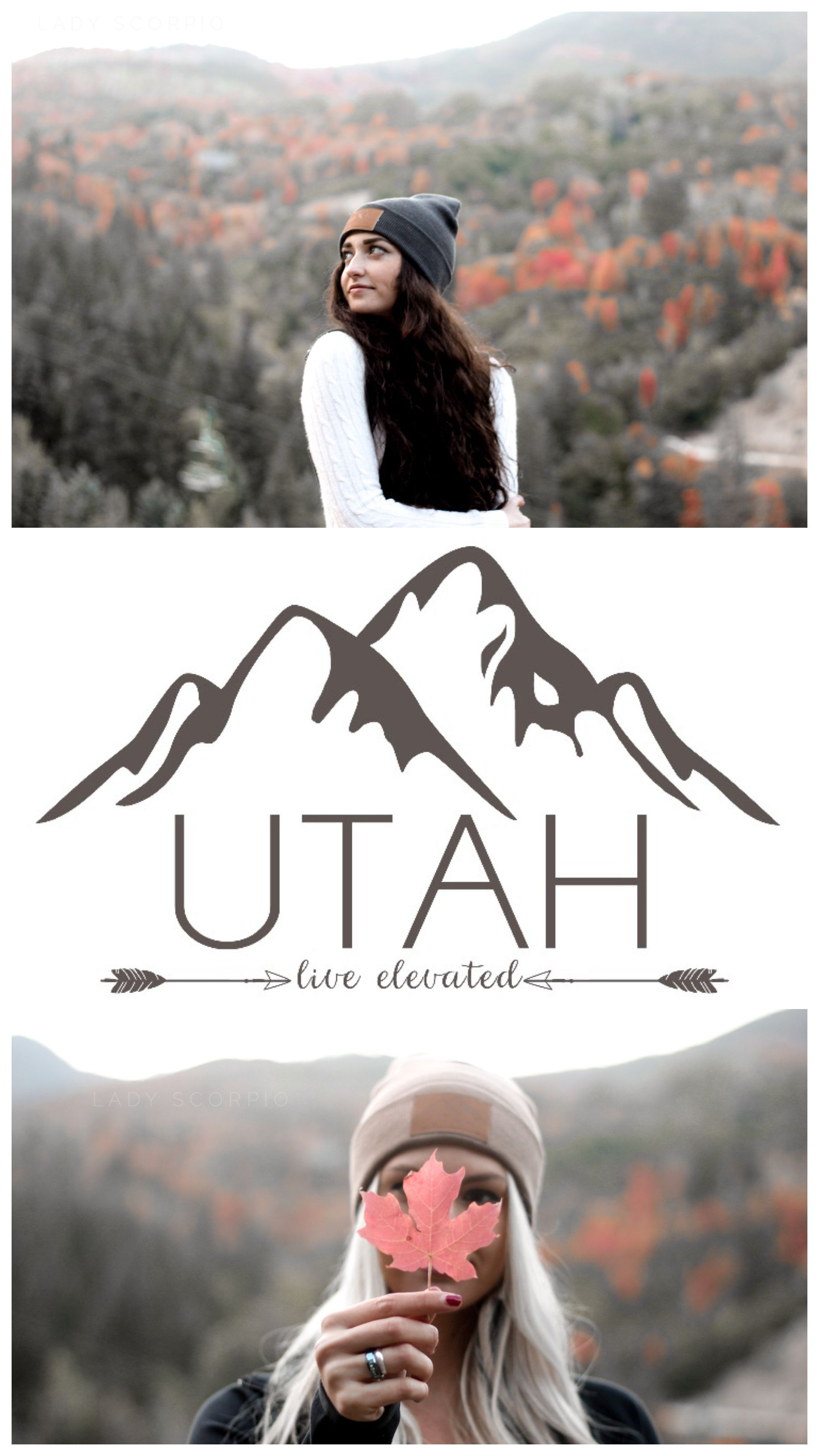 Autumn Leaves  Utah Live Elevated ▵ Wanderlust up Sundance during Fall  Save 25% off all orders with code PINTERESTXO at checkout | Adventure Fashion Shop LadyScorpio101.com | @LadyScorpio101 ≫ Wearing an Everwear Bracelet (Shop Everwear101 on Etsy) : Photography Luna Blue @Luna8lue Brunette Model Allie Slater Blonde Savannah Brazil