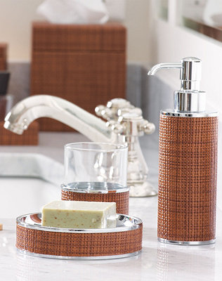 Add A Touch Of Luxury With Bath Accessories Handcrafted In Italy
