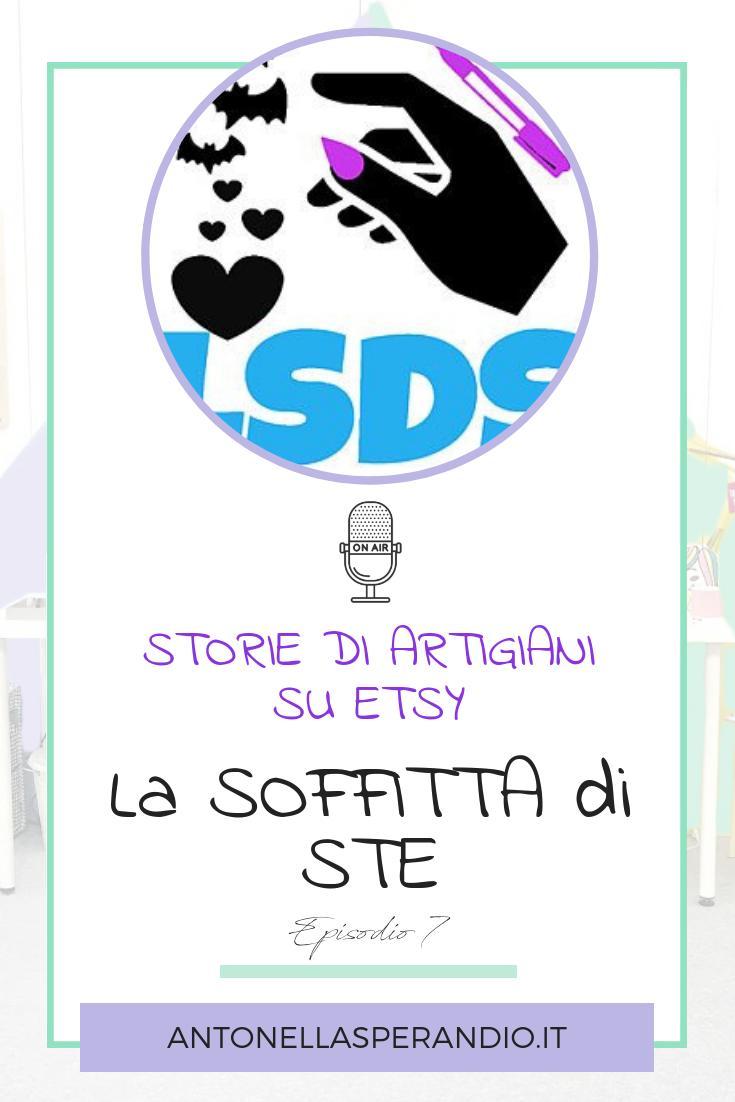 Intervista A Stefania La Soffitta Di Ste Etsy Intervista E Blog