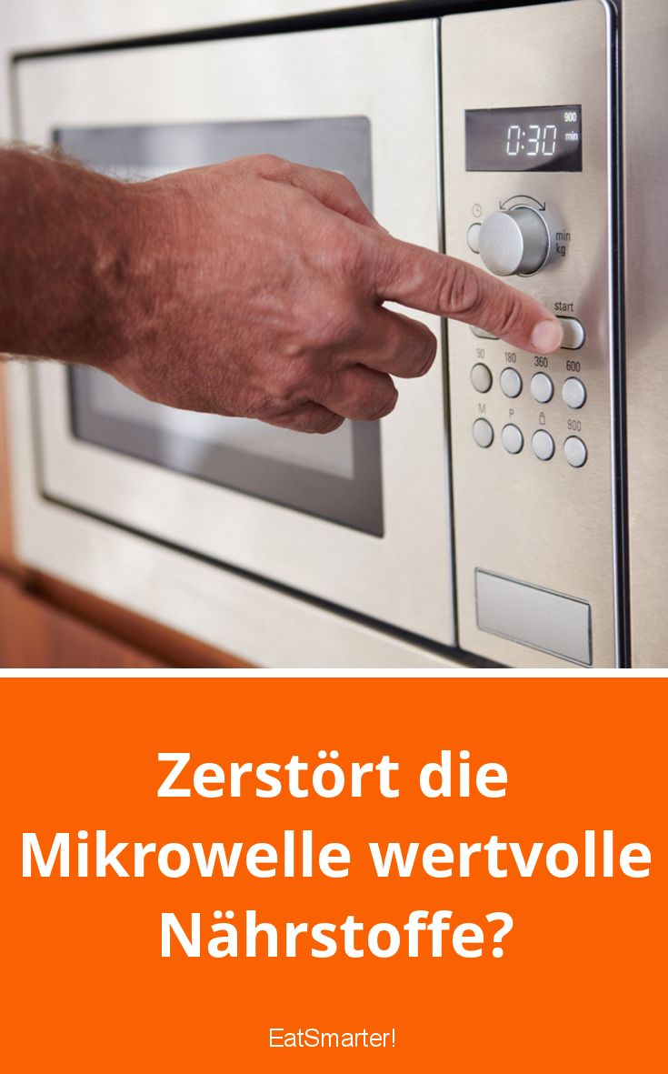 Ist die Mikrowelle schädlich? Fragen wir die Wissenschaft