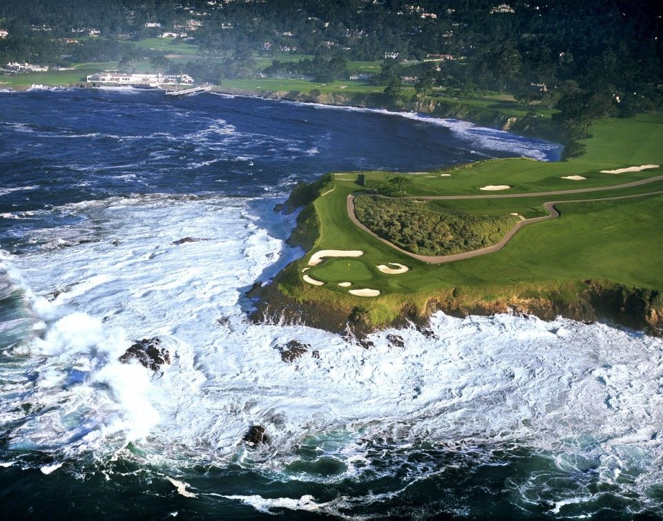 Pebble Beach Golf Sports Wallpapers Very Interesting And Attractive Now You Can Download Golf Sports Hd Wallpapers Free For Desk Golf Courses Golf Pebble Beach