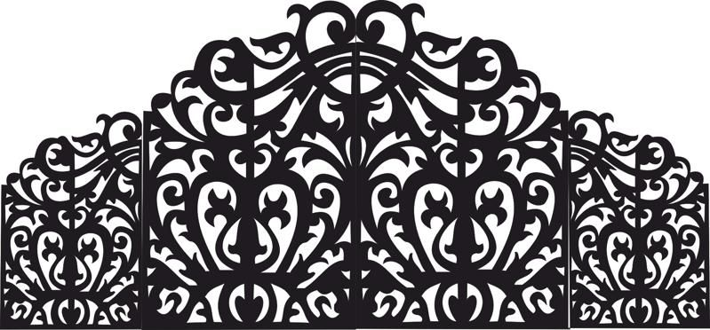 Scroll Saw Pattern Free Vector cdr Download   Pattern Vectors