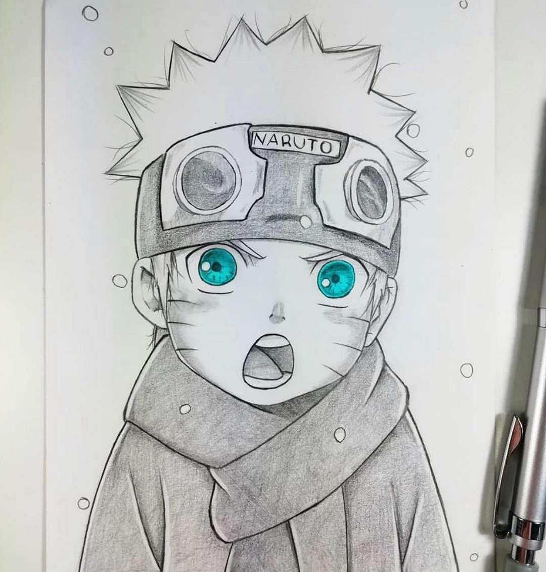 Descubra Como Desenhar Seus Animes Favoritos Em Uma Semana Clique 2x Nessa Imagem Para Saber Mais Em 2020 Naruto E Sasuke Desenho Desenho De Anime Naruto Fofo