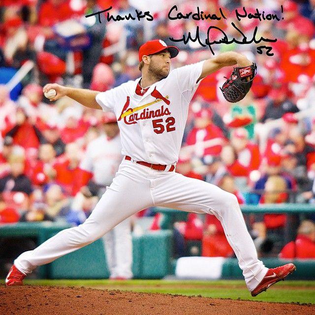 Thanks Cardinal Nation Michael Wacha St Louis Cardinals Stl Cardinals Cardinals Baseball