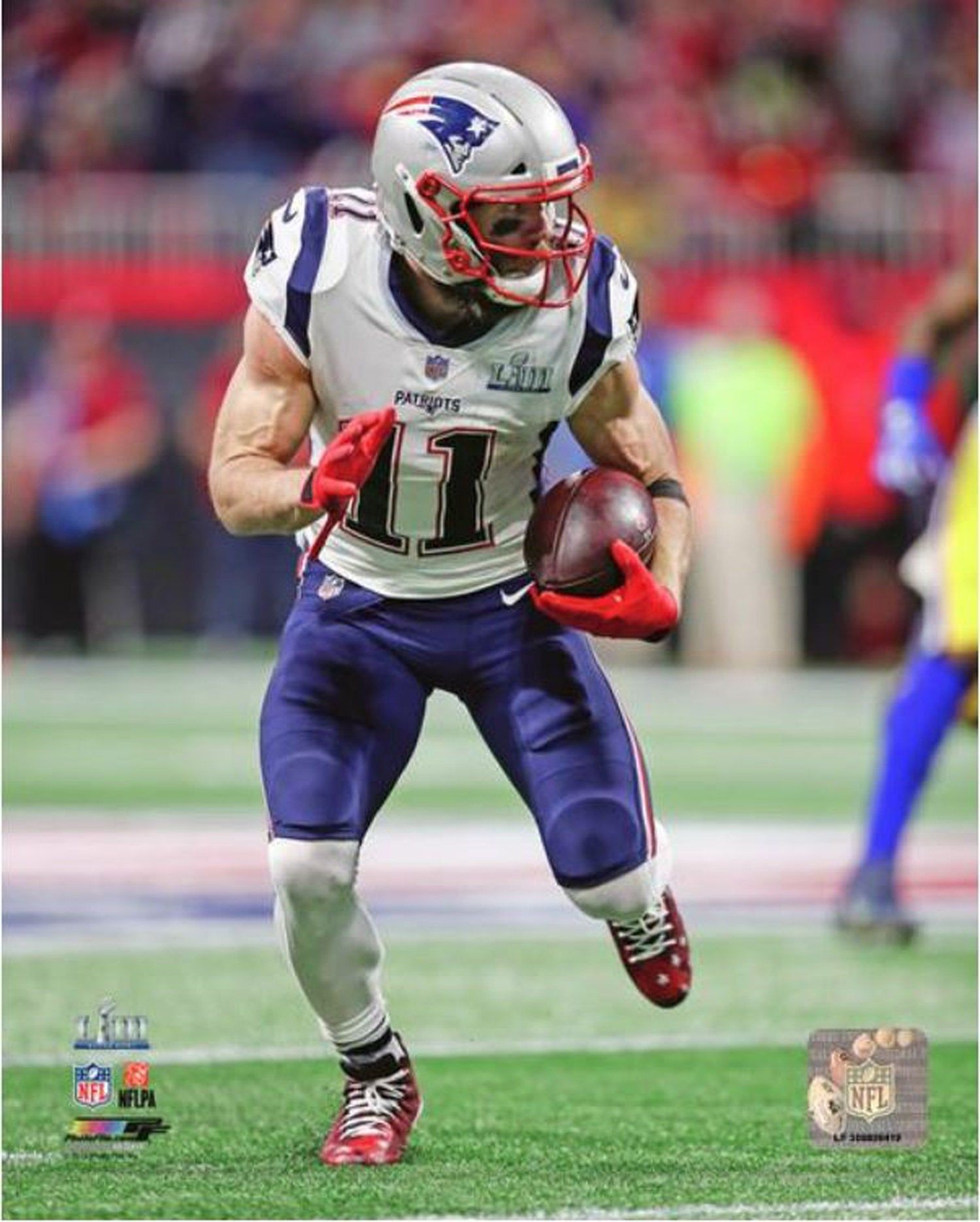 Julian Edelman New England Patriots 2018 2019 Super Bowl
