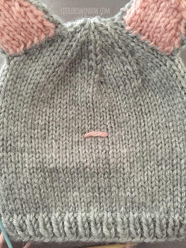 Pretty Kitty Cat Hat Knitting Pattern Gorros Nios Pinterest