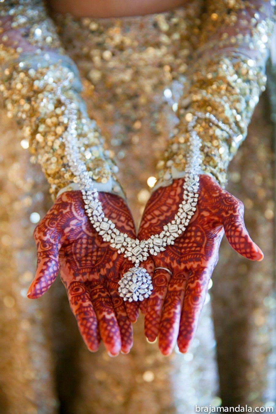 Bridal Diamond Necklace Indian Wedding Blog Think Shaadi